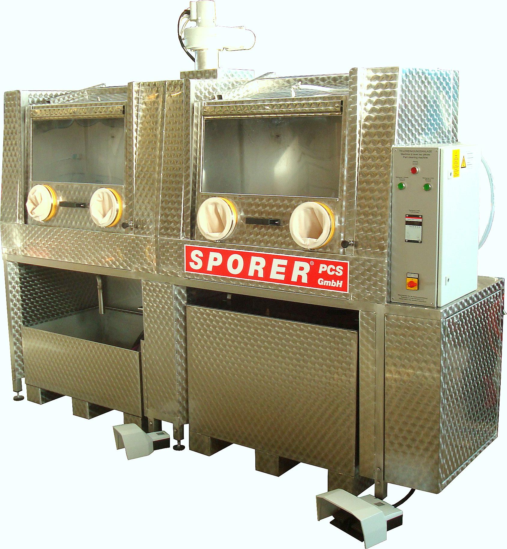 Doppelte Sonder-Powerbox mit manueller Reinigungsfunktion sowie HD-Reinigung mit
